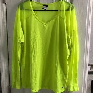 Nike Long Sleeve Dri-Fit Workout Top